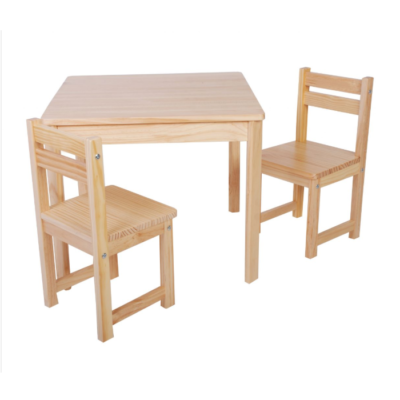 Liberty House Toys - BOSS Table & Chairs Set – NATURAL