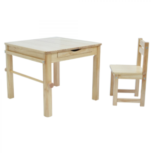 Liberty House Toys - Boss Envy Art Table & Chair Set – Natural