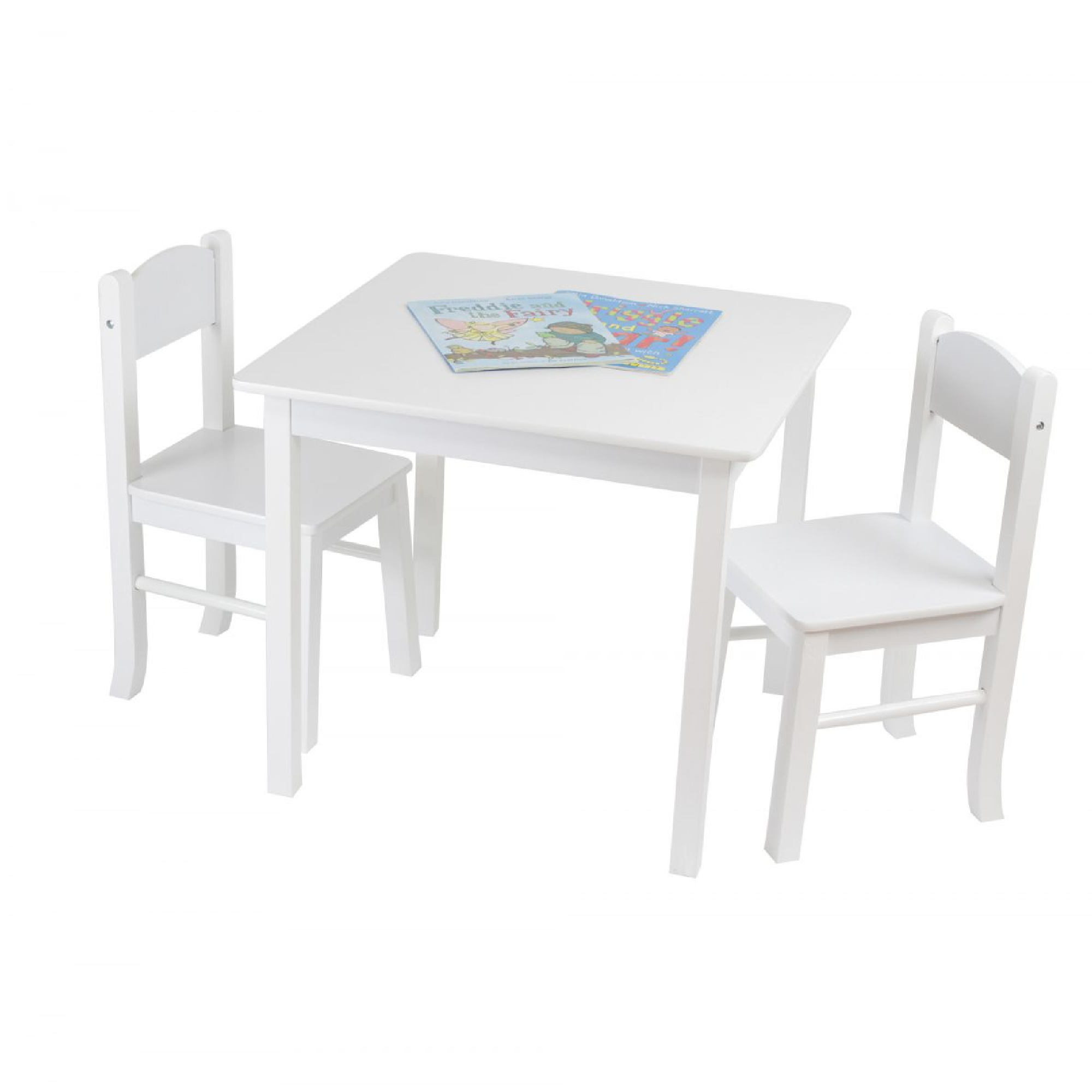 Surprising Liberty House Toys White Wooden Table 2 Chair Set Pabps2019 Chair Design Images Pabps2019Com