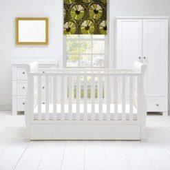 east coast alaska white grey 3 piece nursery room set