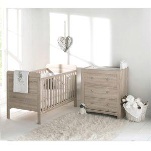 east coast fontana 2 piece nursery room set