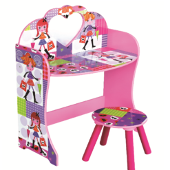 fashion girl dressing table