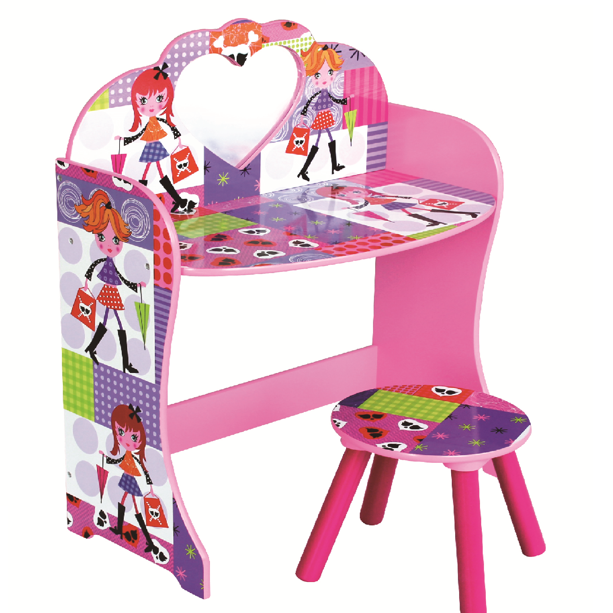 sports shoes c3414 e85ee Liberty House Toys - Fashion Girl Dressing Table & Stool