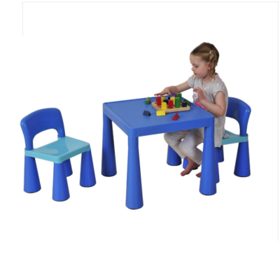 Liberty House Toys - Children's Blue Table & Chair Set