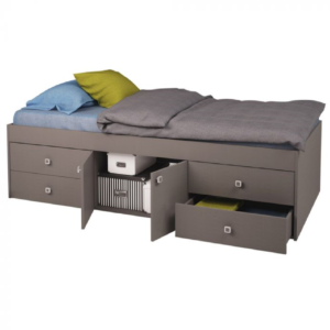 Kidsaw Captains Single 3ft Cabin Bed - Grey