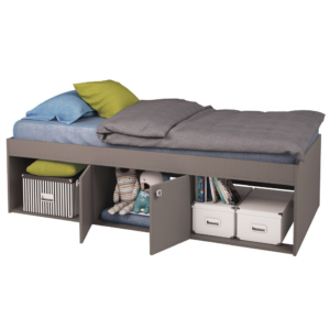 Kidsaw Low Single 3ft Cabin Bed - Grey