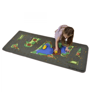 Learning Carpets Drive Around the Park Rug1