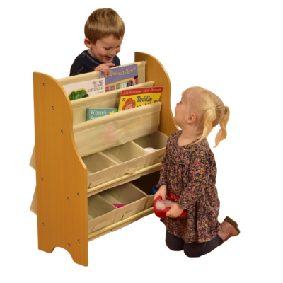 TIKKTOKK Toy Storage Unit with Bins1