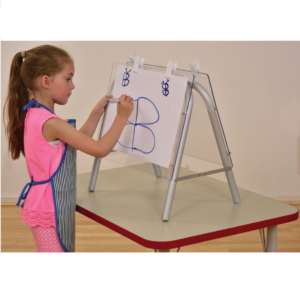 Liberty House Toys - Tikk Tokk Aluminium Table Top Easel