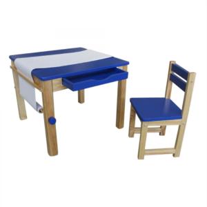 Liberty House Toys - Tikk Tokk Boss Art Table – Blue