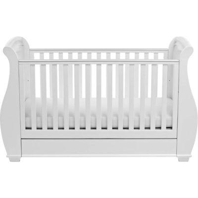 babymore bel dropside sleigh cot bed 2