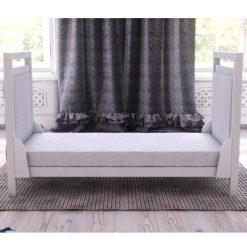 babymore deluxe velvet cot bed junior bed