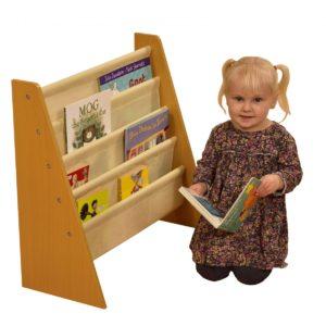 liberty house toys tikk tokk book sling natural