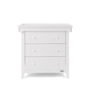 obaby belton chest of drawers and cot top changer