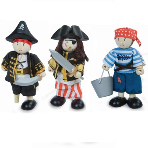 Le Toy Van Budkins Pirate Figures
