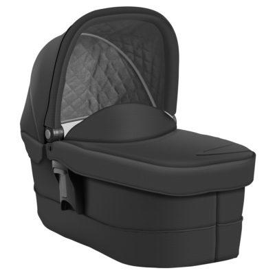 AT181BGRU Evo-Luxury-Carrycot-Black-Grey-Image-1