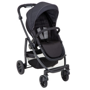 Graco Evo Stand Alone Stroller - Black Grey6