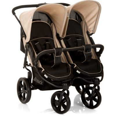Hauck Roadster Duo SLX Double Pushchair - Caviar/Almond
