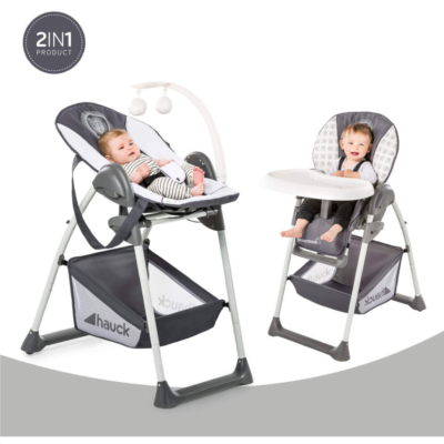 Hauck Sit N Relax 2 in 1 Highchair (Mickey Cool Vibes)