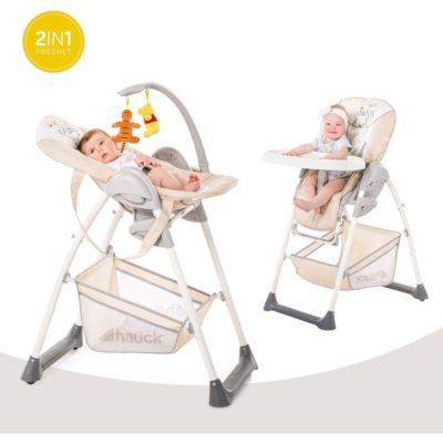Hauck Sit N Relax 2 in 1 Highchair (Pooh Cuddles) 1