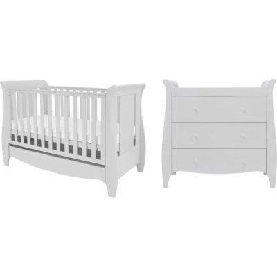 Tutti Bambini roma 2 piece nursery room set dove grey