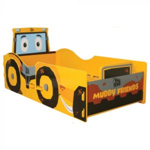 JCB Muddy Friends Junior Toddler Bed