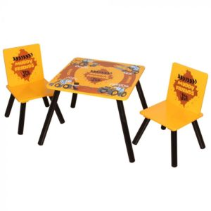 Kidsaw, JCB Muddy Friends Table & Chairs