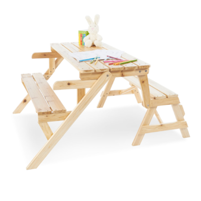 Pinolino 2 in 1 Picnic Bench and Garden Bench Elli