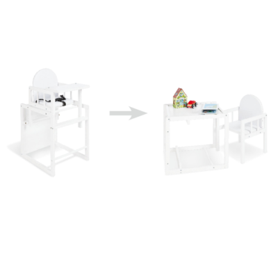 Pinolino Highchair Combination Nele - White