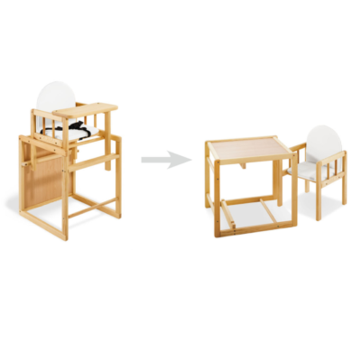 Pinolino Highchair Combination Nele - Natural