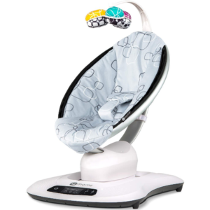 4moms mamaRoo 4.0 (Silver Plush)