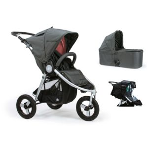 Bumbleride Indie 2 in 1 Dawn Grey Coral (Stroller Carrycot Raincover)