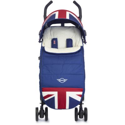 Easywalker MINI Footmuff (Union Jack Classic) 1