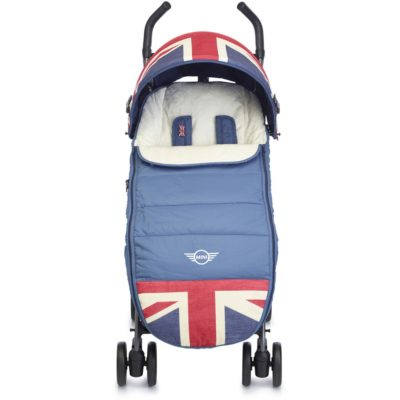 Easywalker MINI Footmuff (Union Jack Vintage) 1