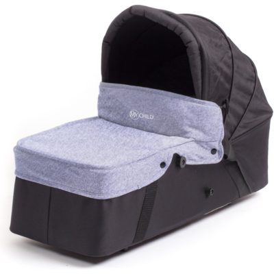 My Child Easy Twin Main Carrycot (Grey)