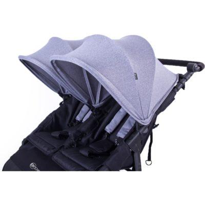My Child Easy Twin Stroller (Grey) 1