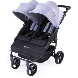 My Child Easy Twin Stroller (Grey)