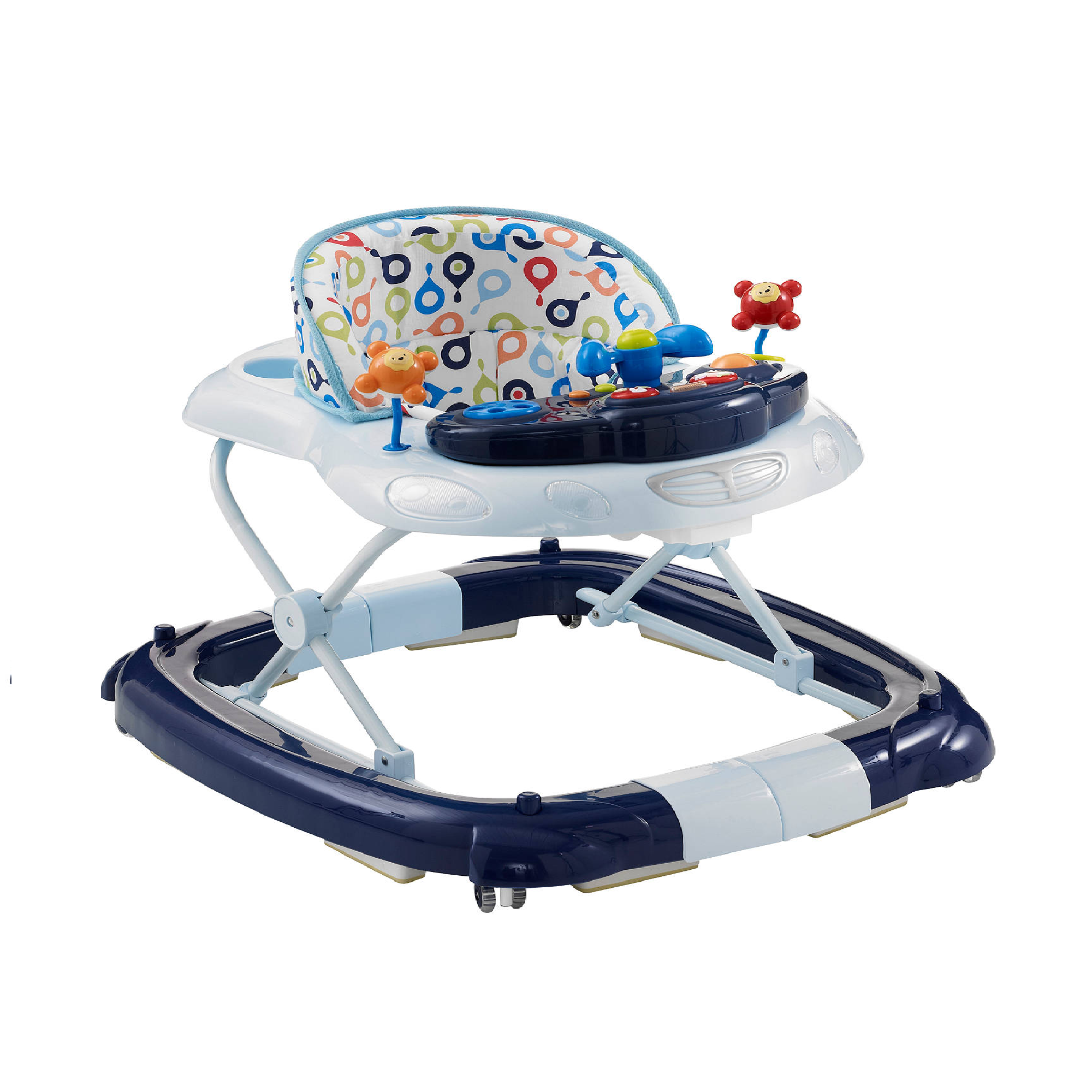 MyChild Car Baby Walker Rocker With Musical Sounds Play Tray