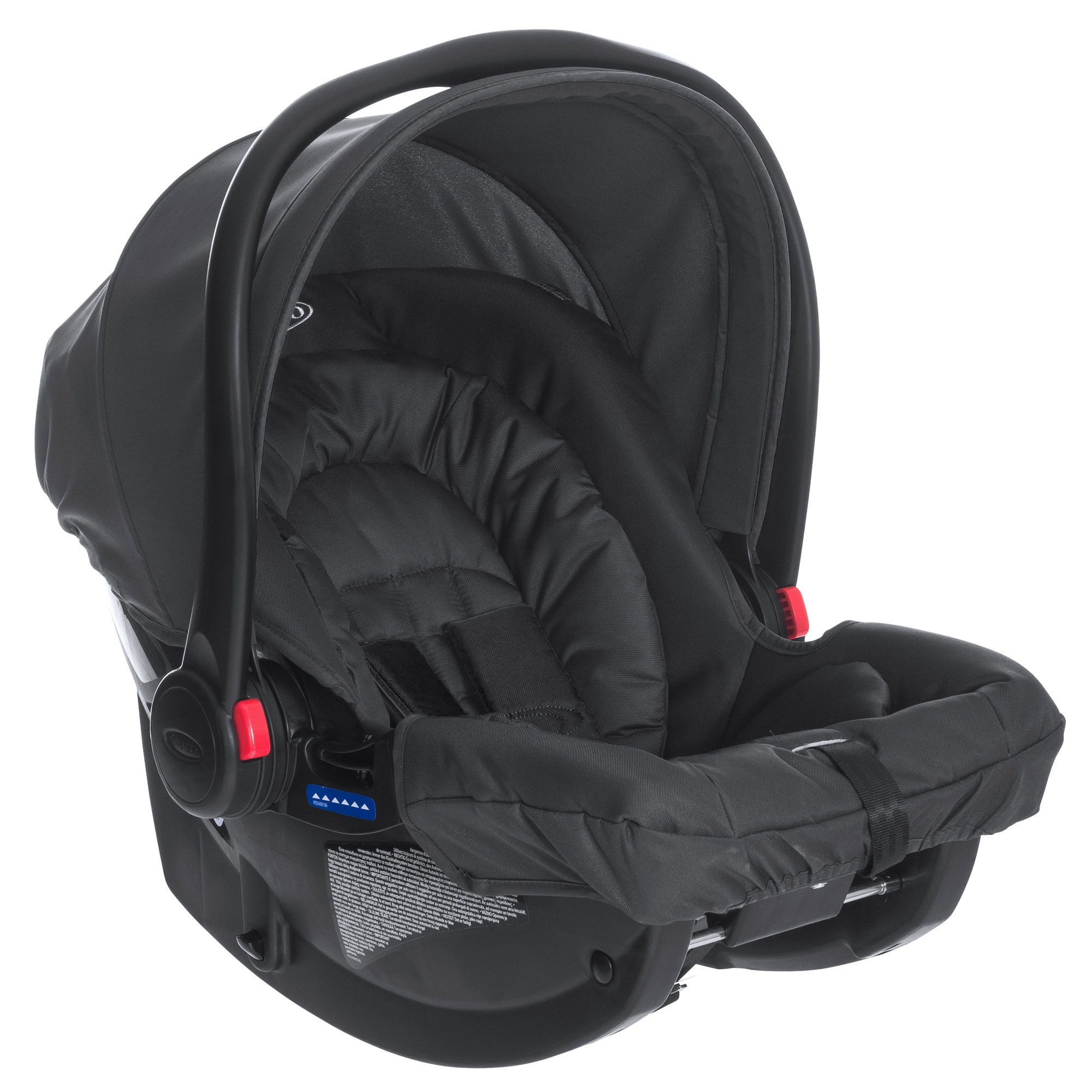 Graco Snugride Group 0 Car Seat Midnight Black