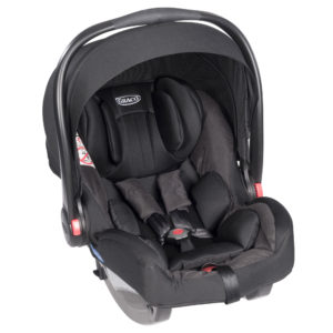 SnugRide iSize Midnight Black carseat1