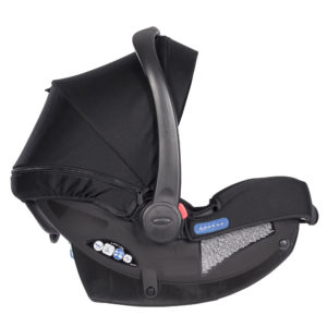 SnugRide iSize Midnight Black carseat2