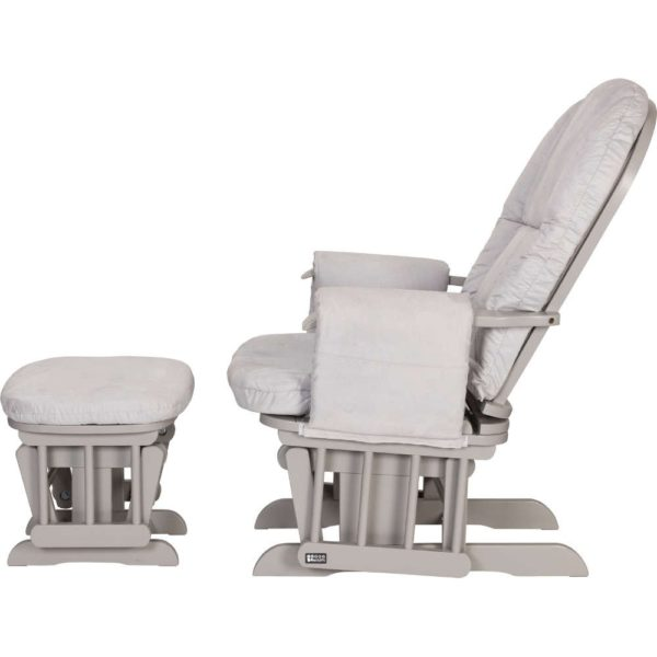 Tutti-Bambini_Gliders_Reclining-Chair-&-Stool_CoolGrey&Grey_side-recline3
