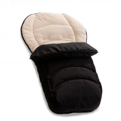 hauck 2 in1 footmuff black