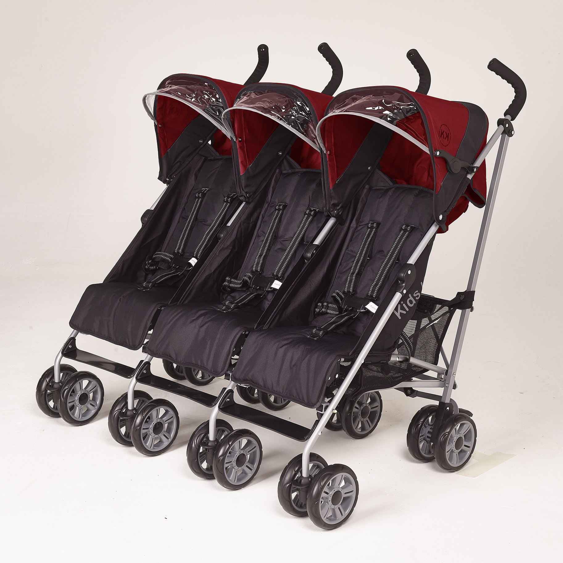Kids-kargo-citi-elite-triple-stroller-red-smart-kid-store