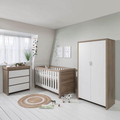 Tutti Bambini Modena Nursery Room Set Builder - White Oak