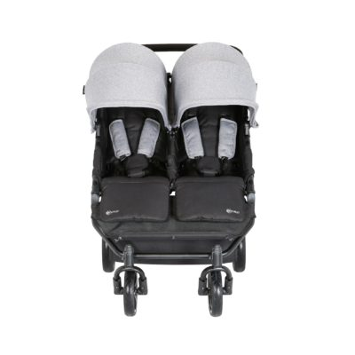 My Child Easy Twin Stroller Pram/Travel System Package - Grey