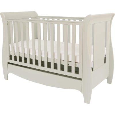 tutti bambini mini cot bed roma in linen