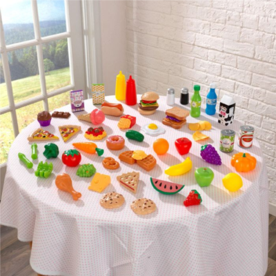 65-pc Play Food Set