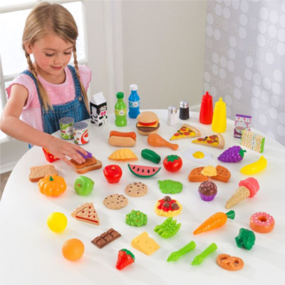 65-pc Play Food Set3