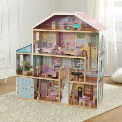 Grand View Mansion Dollhouse1